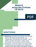 Modul 8 Monitoring Evaluasi 1