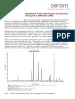 XRD Application Note Phase Determination Refinement Press
