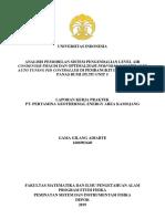 Gama-laporan Kerja Praktik PT Pertamina Geothermal Energy Area Kamojang