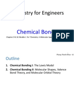 Chemistry for Engineers_week 4 and 5_Chemical Bond