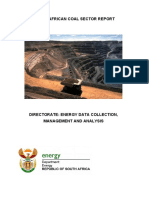 South African Coal Sector Report