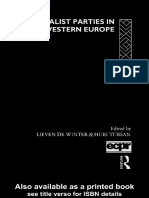 (Routledge_ECPR Studies in European Political Science, 1) Lieven de Winter_ Huri Tursan - Regionalist Parties in Western Europe-Routledge (2003)