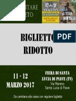 Biglietto Ridotto SLP 2017