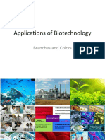Colors of Biotechnology