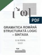 Gramatica Romana Structurata Logic Sintaxa