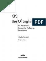 Virginia Evans-CPE Use of English 1 for the Revised Cambridge Proficiency Examination-Express Publishing UK Ltd (2002)