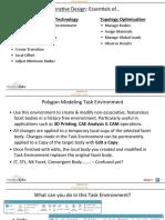 Generative Design Essentials of Convergent Modeling Topology Optimization