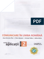 Caiet de Aplicatii Lb Romana