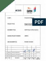 PS-0000-1130-322-E Rev 01 HAZOP Report - Utility Systems