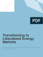 KAPSARC Transition to liberalized Energy Markets