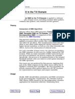 Ensemble DMO in T-X Domain
