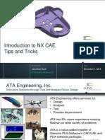 NX CAE Tips Tricks 20151201a