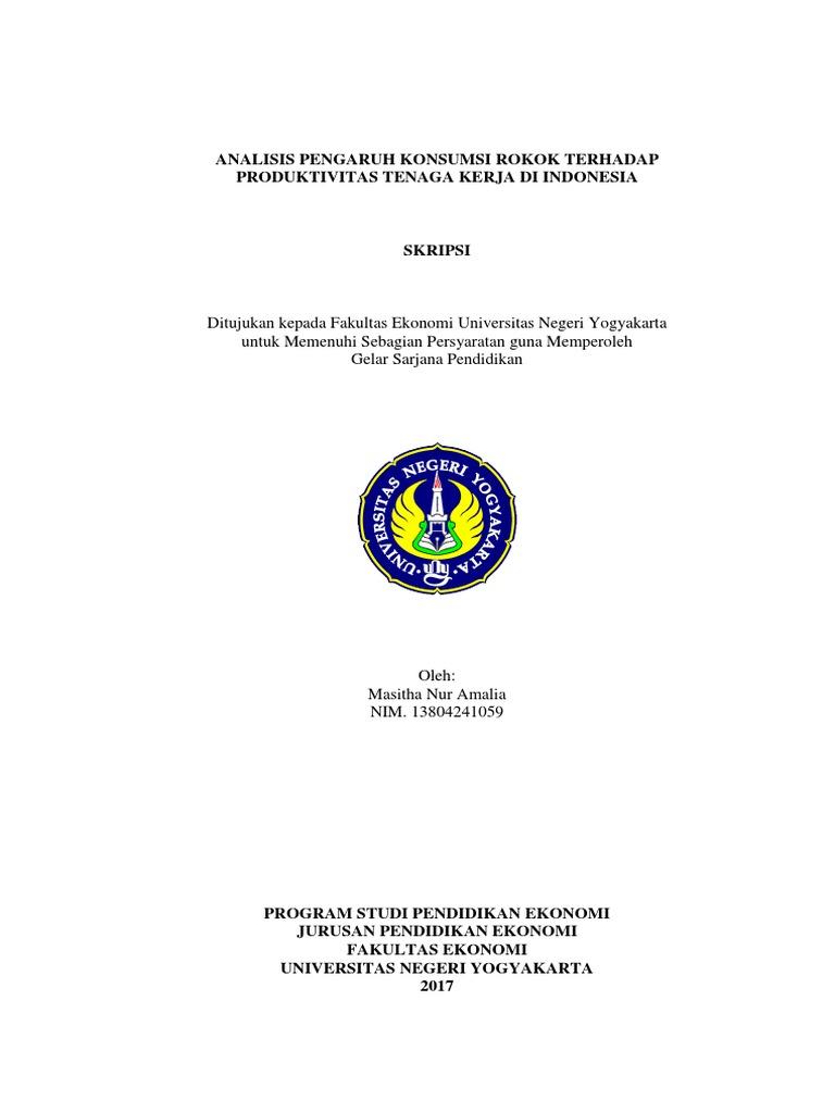 Skripsi Masitha Na Pendidikan Ekonomi Uny 13804241059 Pdf