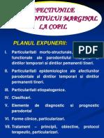 AFECTIUNILE PARODONTIULUI MARGINAL LA COPIL - Copy.ppt