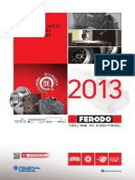 Ferodo Brake pads Catalogue 2013 UK