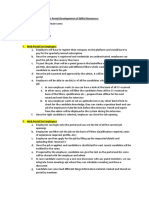 Scope of Work Document for Po