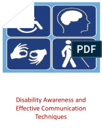 Disability Awareness and Effective Communication2