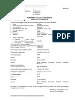 Surat Pengantar Pernikahan n1-n7