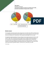 Academic Writing Sample Task 1 Pie Chart