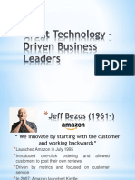 Great Technology-Driven Business Leaders