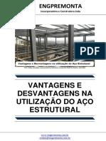 Vantagens e Desvantagens Na Utilização Do Aço Estrutural