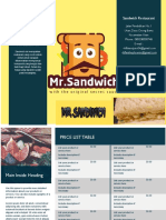 Mr Sandwich