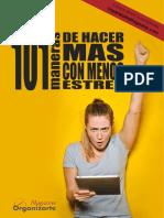 101 Consejos Administracion Tiempo2018web