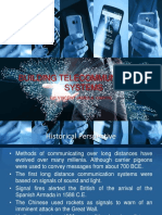 Building Telecommunication Systems Report