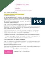 Resumo Cinesioterapia II