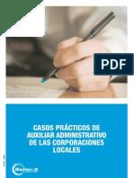 Supuestos Teórico-Prácticos Auxiliar Administrativo De Las Corporaciones Locales