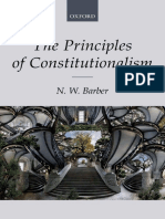 N. W. Barber - The Principles of Constitutionalism (2018, Oxford University Press, USA)