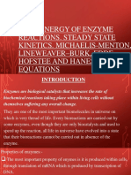 equations in enzyme kinetics