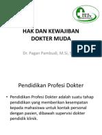 Hak Dan Kewajiban Dokter Muda