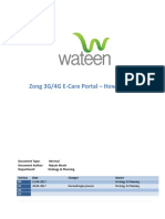 ZONG E-Care Portal - How to use it v1.0.docx
