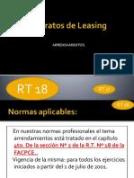 Contratos de Leasing RT18 PDF