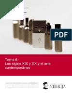Unidad Didáctica 6 Los Siglos Xix y Xx en El Arte