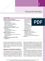 1 - Paroxysmal Disorders