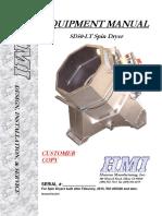 Manual Centrifuga HMI