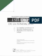Estudios de La Fundación