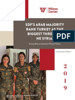 SDF's Arab Majority Rank Turkey as the Biggest Threat to NE Syria