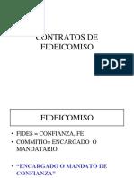 Contratos de Fideicomiso