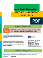 April Economics current afffaire