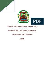 Estudio de Caracterizacion Chulucanas 2014