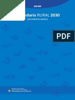 190711 Secundaria Rural 2030 Vf