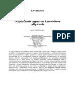 Małachow G. P. - Oczyszczanie organizmu i prawidłowe odżywianie