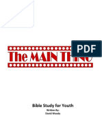 The Main Thing Youth Bible Study--Woody-2