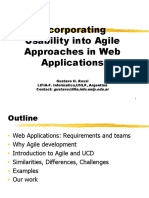 User-Centered Development in Agile Approaches