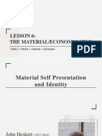 The Material and Economic Self