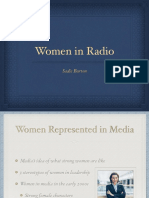 mcom 250 women in radio- sadie burton
