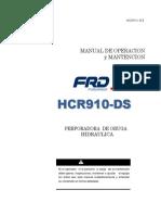 Manual Operacional y Matenimiento HCR 910 Espanol